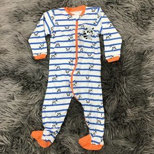 Tuffy   Kids One Piece Pajama   Footie   12Months
